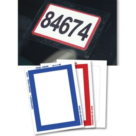 Stock Stickers - Kleer Bak Blank & Border