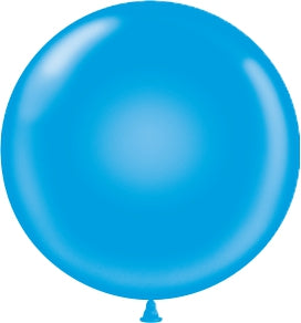 "17"" Latex Balloons Tuf-Tex - Blue"