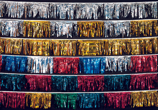 Metallic Fringe Streamers - 60'
