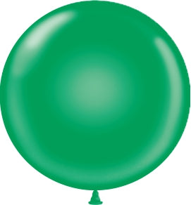 "17"" Latex Balloons Tuf-Tex - Green"