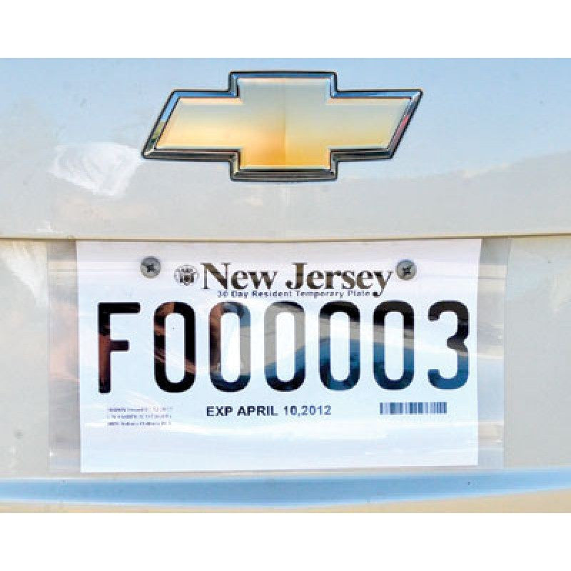 License Plate Protector
