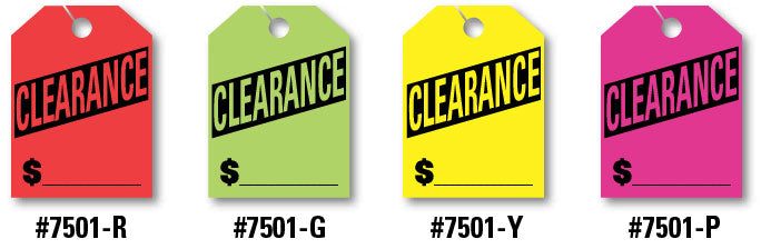 Mirror Hang Tags (Jumbo) - Clearance
