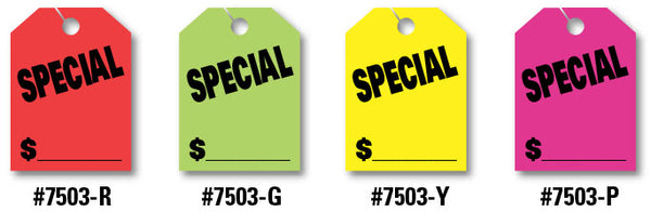 "Mirror Hang Tags (Jumbo) - ""Special"""