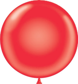 "17"" Latex Balloons Tuf-Tex - Red"