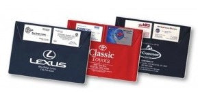 Custom Vinyl Document Holders