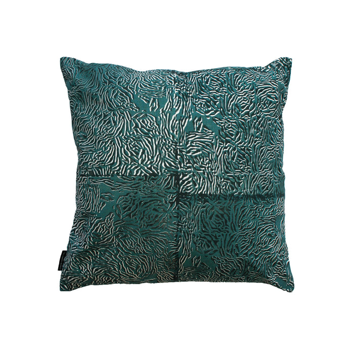 Luxury Limited Edition Cushion Cover in Cotton. Screen Printed Cotton.