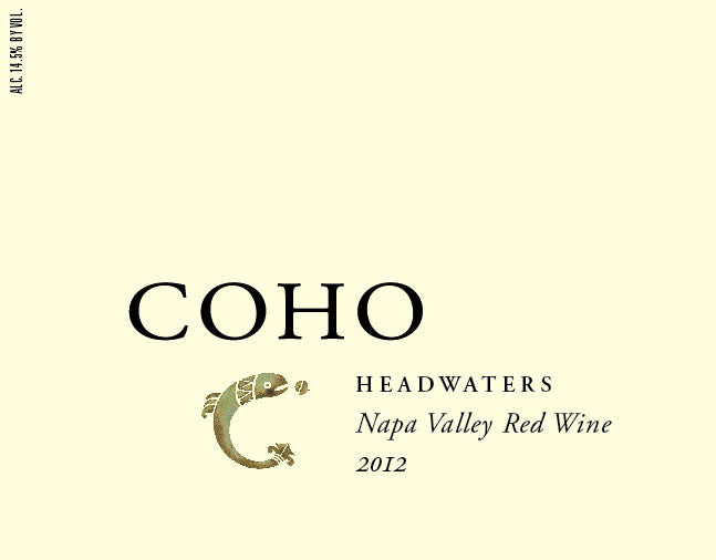 COHO Headwaters Napa Valley Red Wine