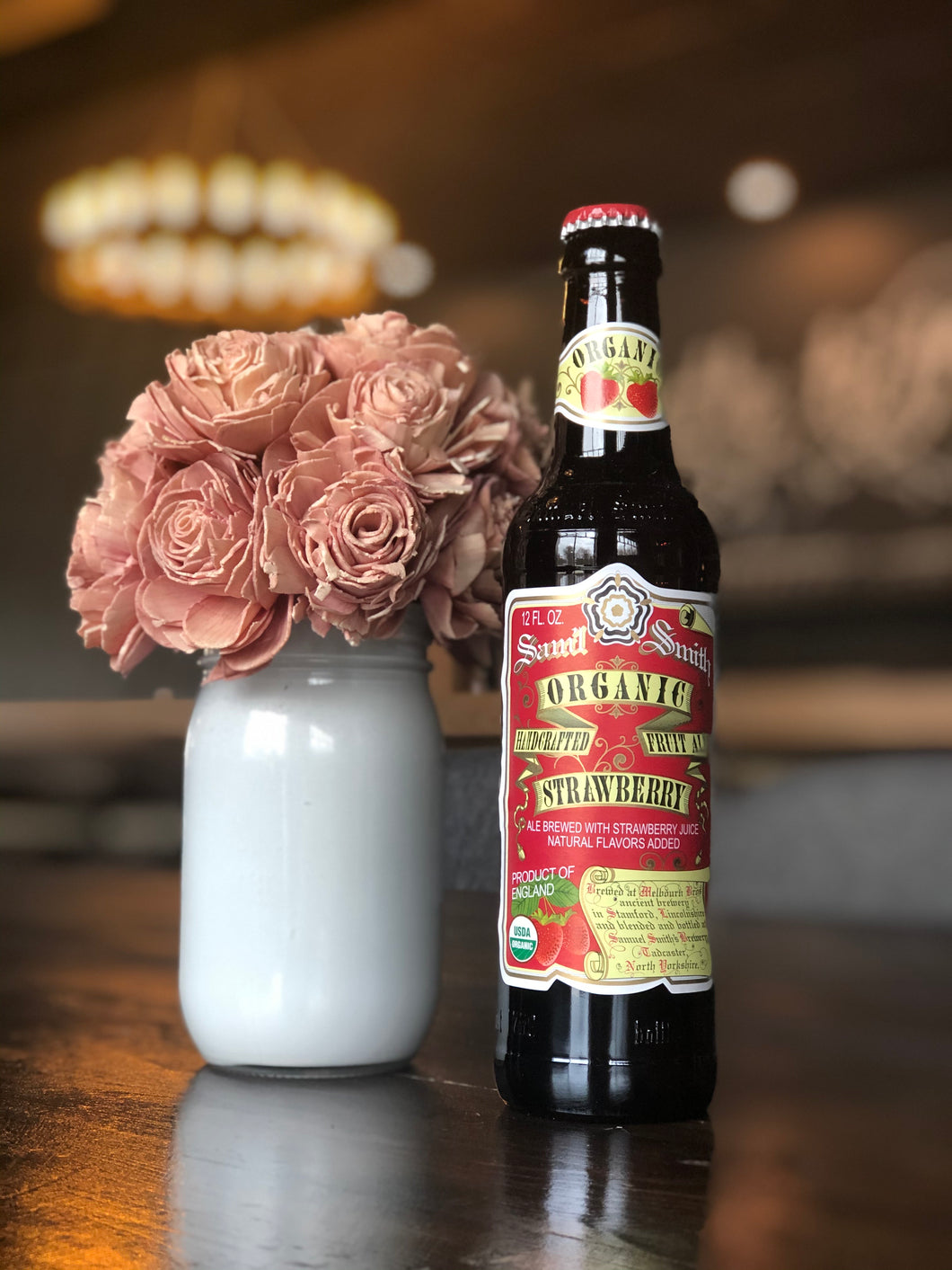 Samuel Smith Organic Strawberry (12oz bottle)