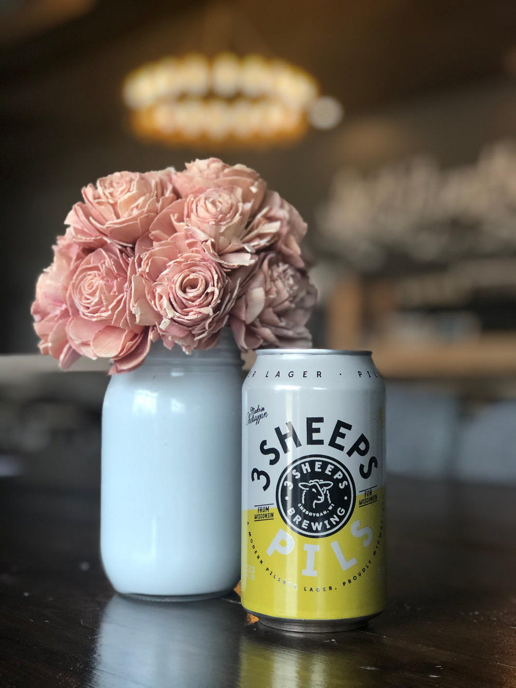 3 Sheeps Pils (12oz can)