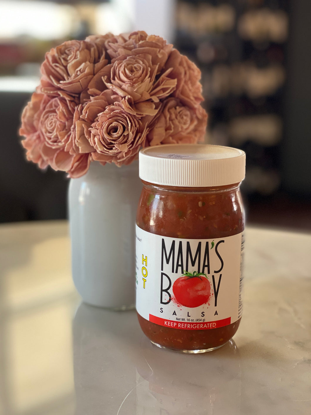 Mama's Boy Salsa - HOT