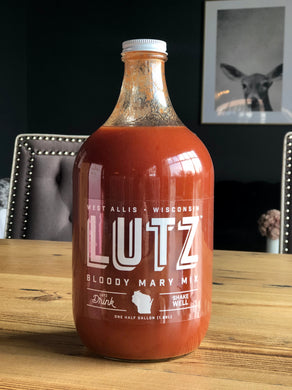 Lutz Bloody Mary Mix (1/2 Gallon)