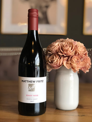 Matthew Fritz North Coast Pinot Noir, 2017