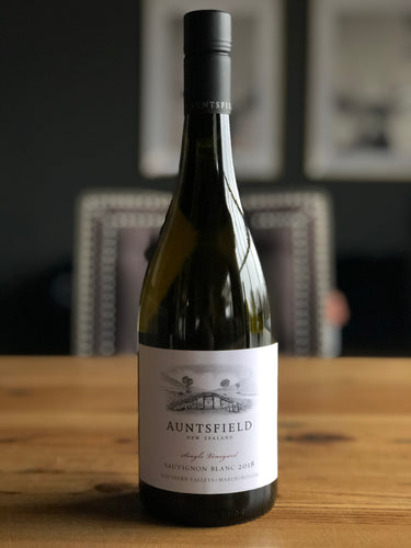 Auntsfield Single Vineyard Sauvignon Blanc, 2019