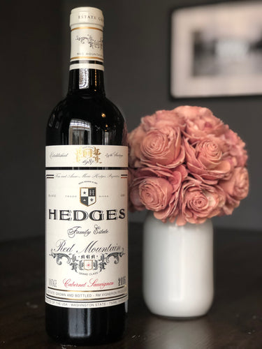 Hedges Family Estate Cabernet Sauvignon Red Mountain AVA 2015