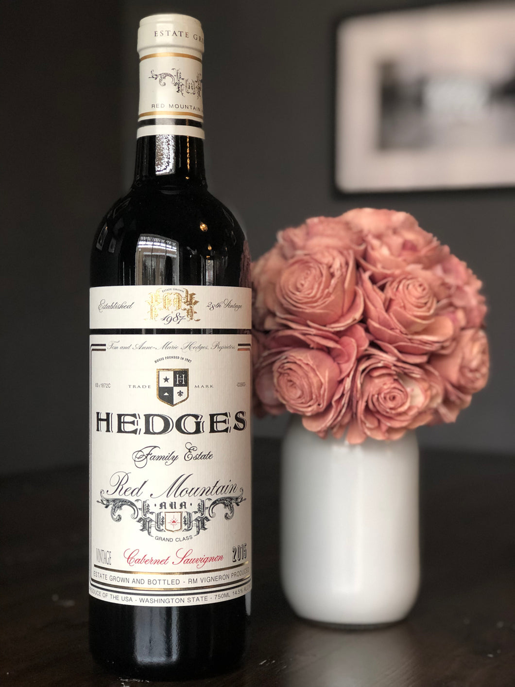 Hedges Family Estate Cabernet Sauvignon Red Mountain 2015