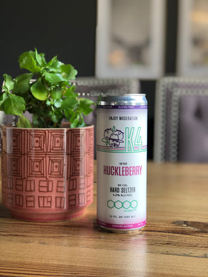 Karben4 K4 Hard Seltzer Huckleberry (12oz can)