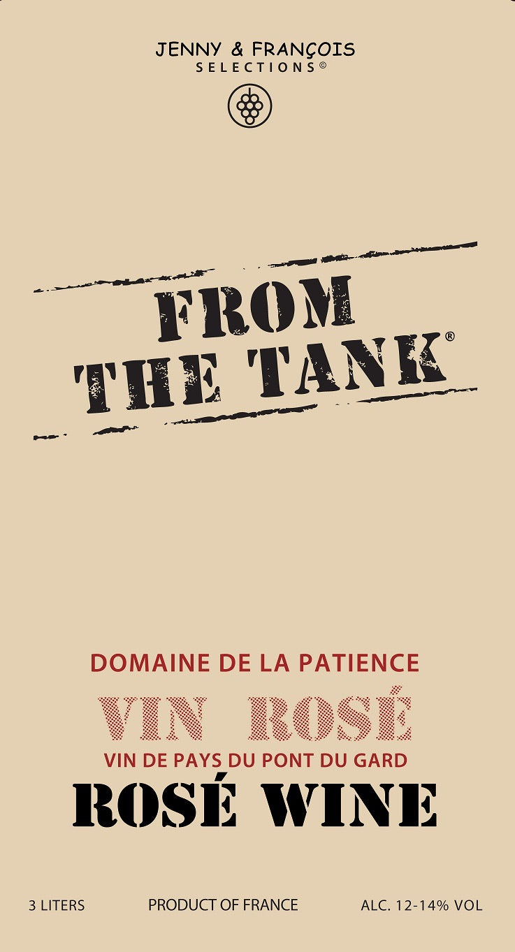 "Jenny & Francois ""From the Tank"" - Rose"
