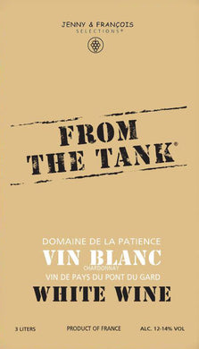 "Jenny & Francois ""From the Tank"" - White"