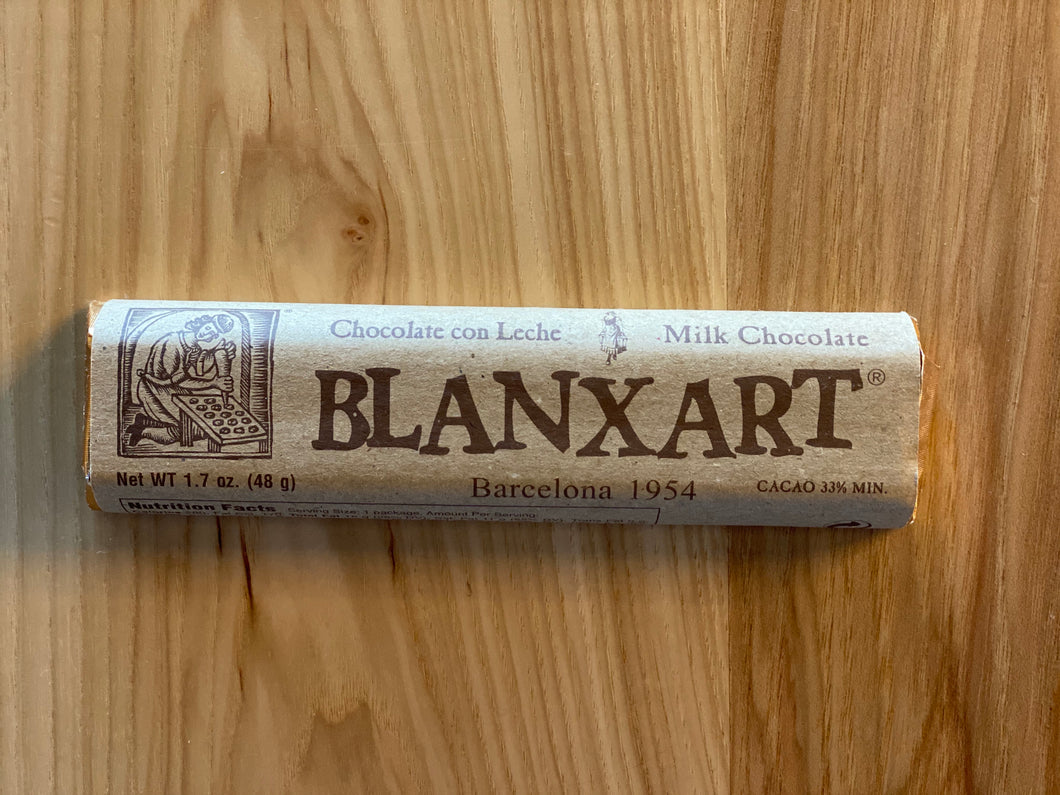 Blanxart Milk Chocolate Bar