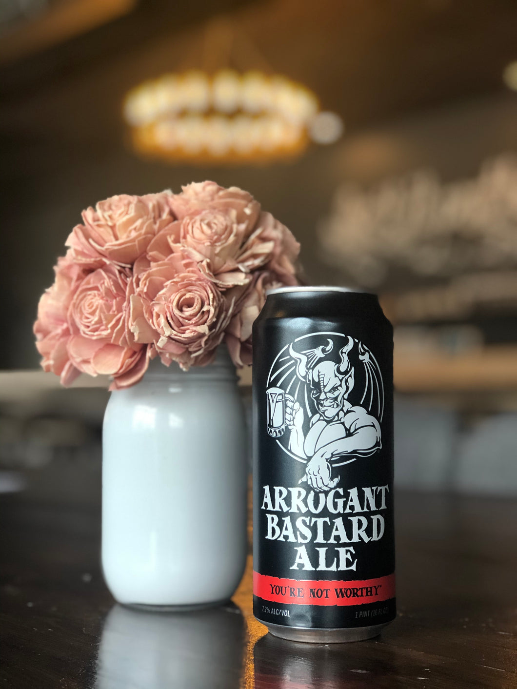 Arrogant Bastard Ale (16oz can)