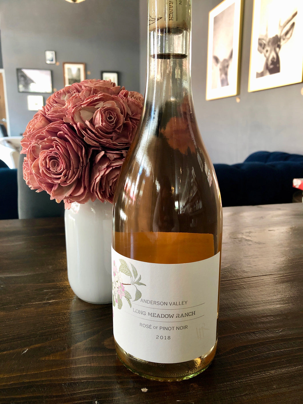 2019 Long Meadow Ranch Rosé of Pinot Noir Anderson Valley