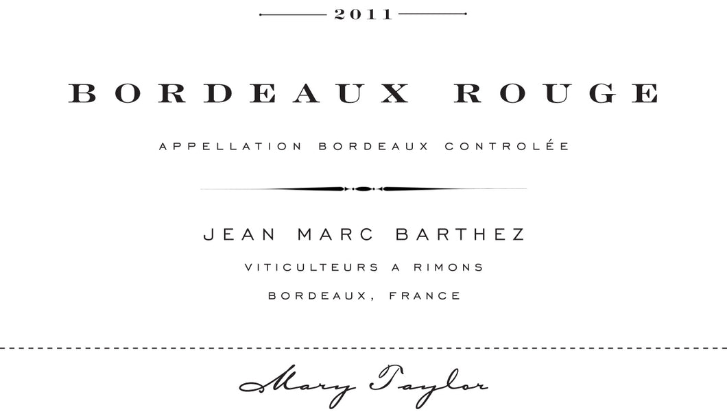 Jean Marc Bordeaux Rouge