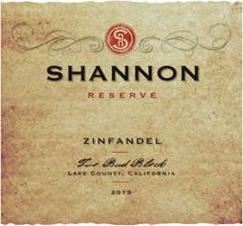 Shannon Reserve Two Bud Zinfandel
