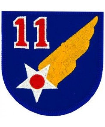 "11th Air Force 3"" Patch"
