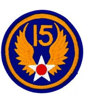 15th Air Force 3' Round Patch