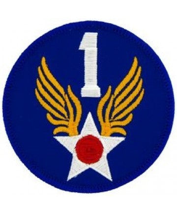 "1st Air Force Round 3"" patch"