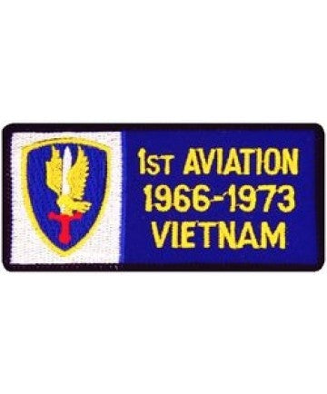 1st Aviation Patches