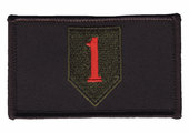 1st Infantry Division Velcro Patch
