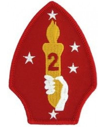 2nd Marine Division Insignia Patch