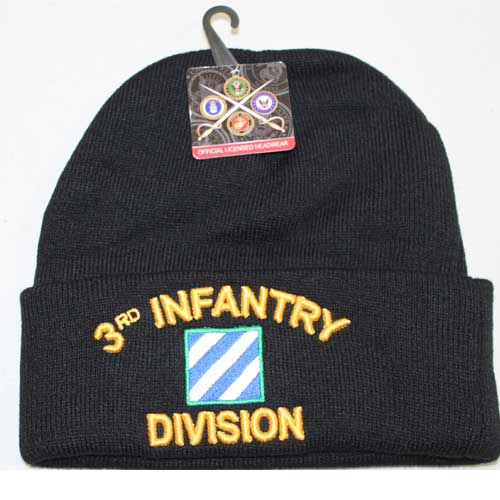 3rd Infantry Division Cuffed Beanie