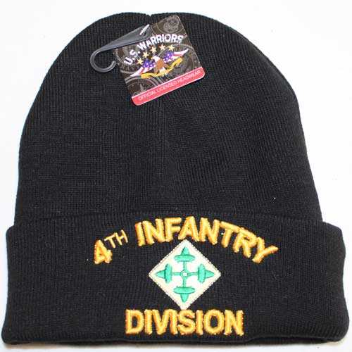 4th Infantry Cuffed Beanie