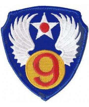 "9th Air Force ""3 inch patch"