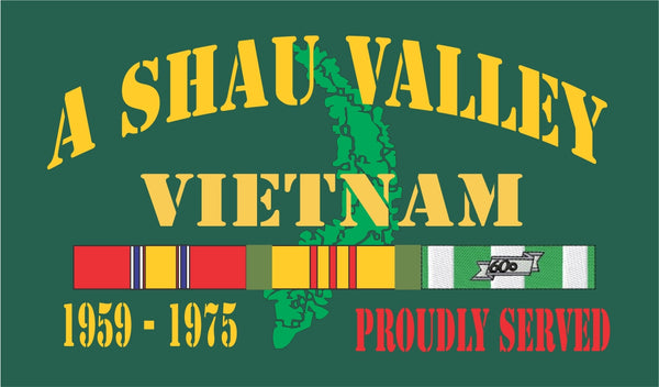 A Shau Valley Vietnam Velcro Patch