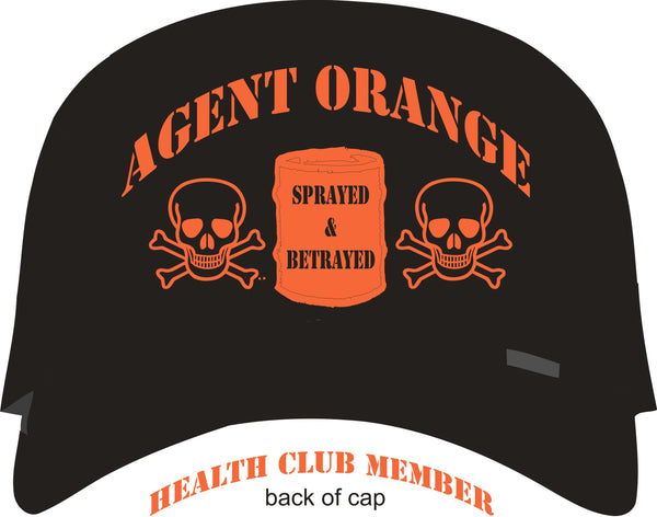 Agent Orange Health Club Vietnam Veteran Cap