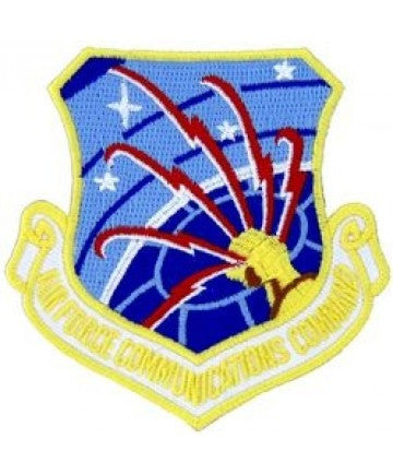 Air Force Communications Command Hat Patch