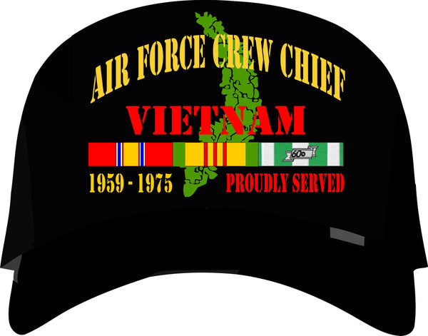 Air Force Crew Chief Vietnam Veteran Cap