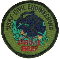 Air Force Civil Engineering Prime Beef Patch