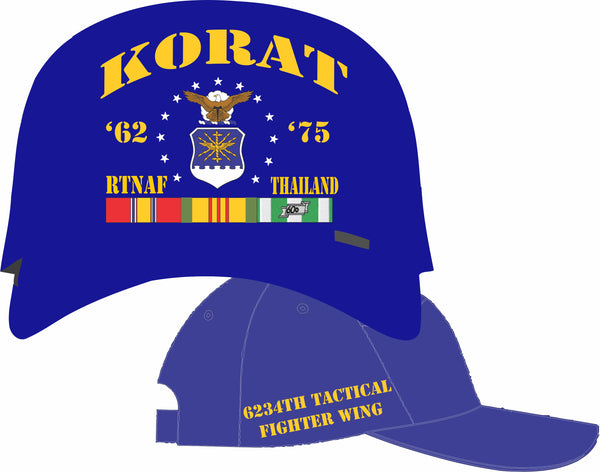Air Force Thailand Korat 6234th Cap