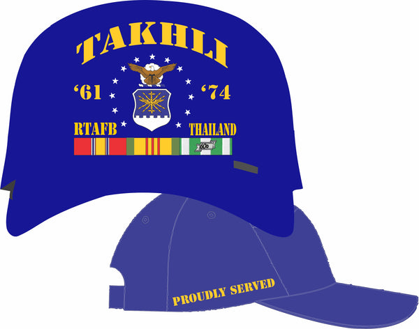 Air Force Thailand Takhli Cap