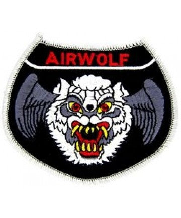 Air Force Airwolf Patch