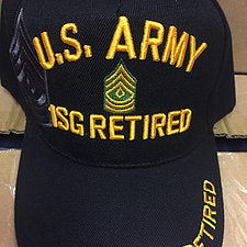 US Army 1SG Retired