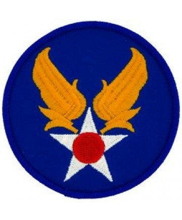 "Army Air Corps 3"" Round Patch"