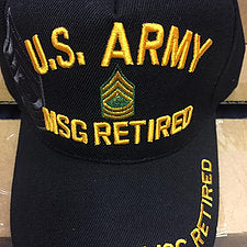 Army Master Sgt. Retired
