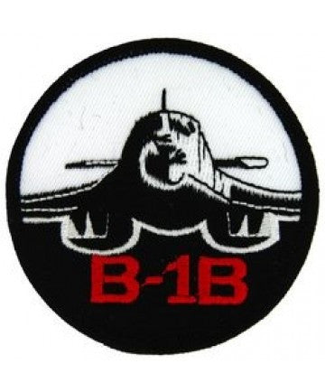 "B-1 Bomber 3"" Round Patch"
