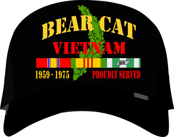 Bear Cat Vietnam Veteran Cap