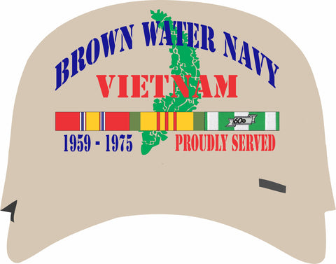 Brown Water Navy Vietnam Veteran Cap